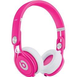 Beats by Dre Mixr Neon On-Ear Headphones - Pink