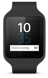 Sony SmartWatch 3 Transflective Watch - Black (SWR50-3697)