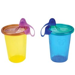 First Years Y1176 10 Oz Take & Toss Spill Proof Cups
