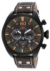 Invicta Men'S Aviator Analog Display Quartz Watch - Black - 19671