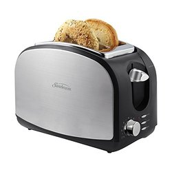 Sunbeam Brushed Stainless Steel 2-slice Toaster with Extra Wide Slots