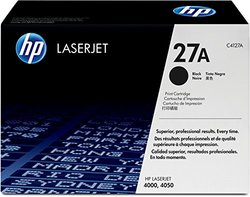 HP C4127A Laserjet 27A Cartridge - Retail Packaging - Black