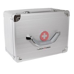 "Lockmed Large Double Combination Lockbox Size 12"" (L) X 9"" (W) X 6.5"" (H)"
