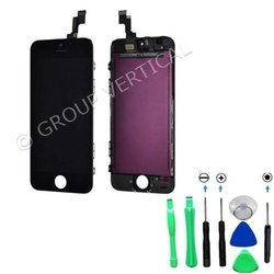 Front Assembly LCD Screen Touch Digitizer Assembly for iPhone 5C - Black