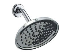 Waterpik Rainfall 1-Spray 7 in. Drenching Showerhead - Chrome
