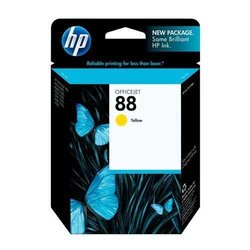 HP 88 Officejet Ink Cartridge Yellow C9388AN#140/424