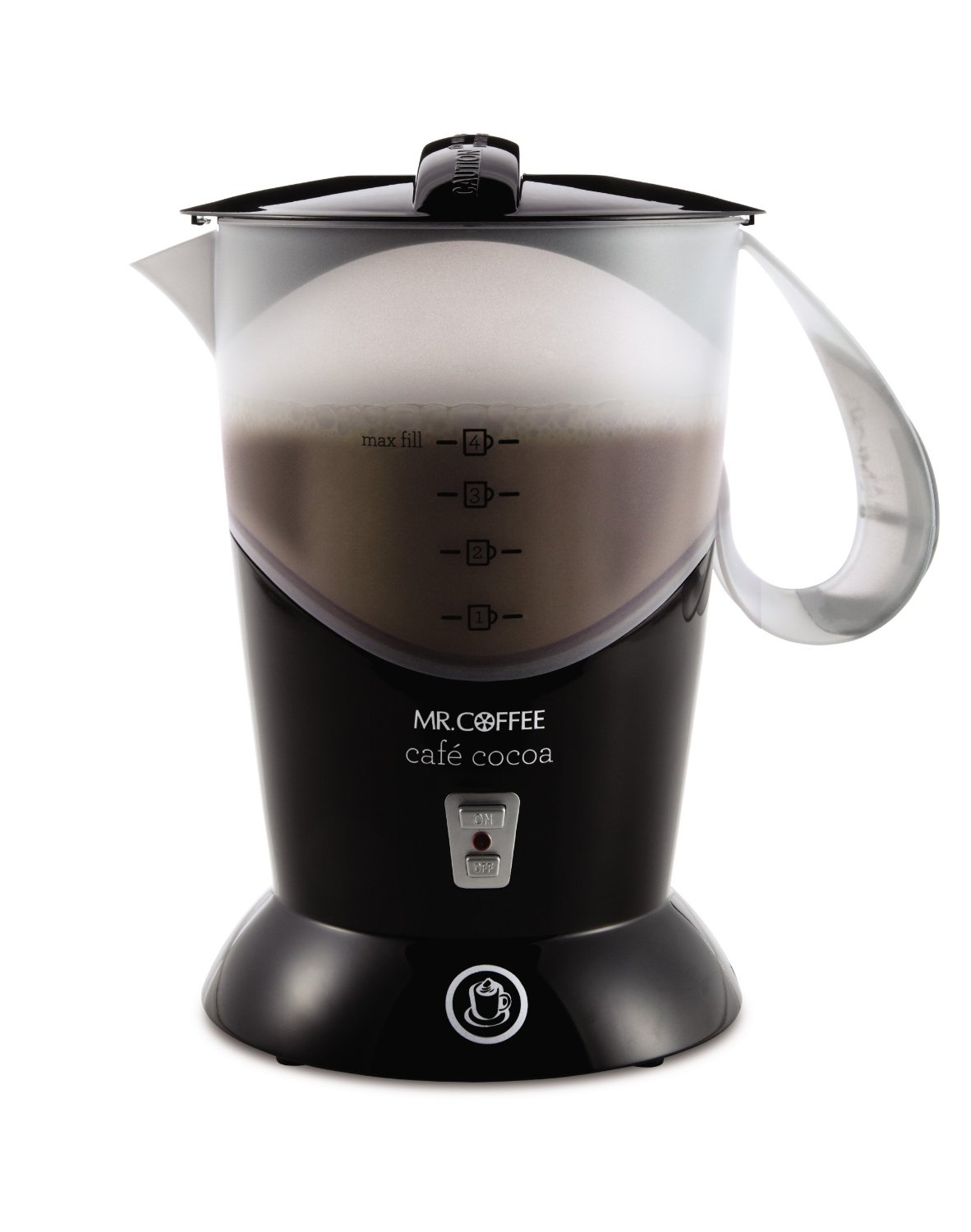 Mr. Coffee Cafe Cocoa Hot Chocolate Maker - Black (BVMC-HC5 ...