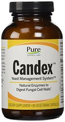 Pure Essence Candex Enzymatic Yeast Control Capsules - 80 Count
