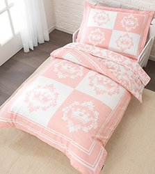 KidKraft Princess 4-Piece Toddler Bedding Set - Pink