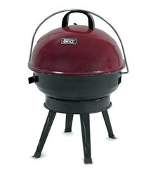 "Backyard Grill 14.5"" Round Portable Charcoal Grill - Red"