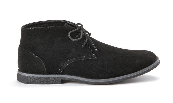 Oak & Rush Men's Chukka Boots - Black - Size: 8.5 - Check Back ...