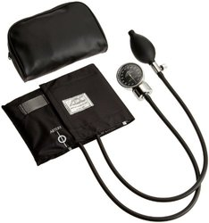ADC Diagnostix 700 Pocket Aneroid Sphygmomanometer, Adult, Black