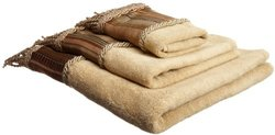 Popular Bath 3-Piece Contempo Spice Towel Set - Beige