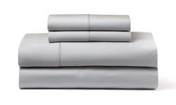 Wexley Home 1200TC Egyptian Cotton-Rich Sheet Set - Platinum - Size: King