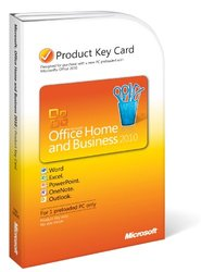 Microsoft Office Home & Business 2010 Key Card - 1PC / 1User (T5D-00295)