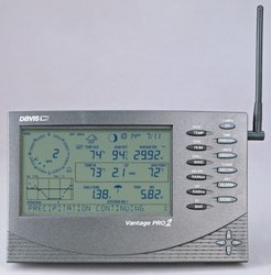 Davis Instruments 6312 Vantage Pro2 Console/Receiver Weather Meter - Gray
