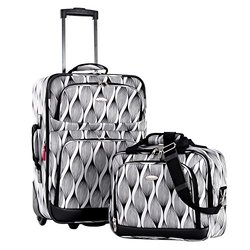 Let's Travel! 2-Piece Carry-on Luggage Set: Mystic