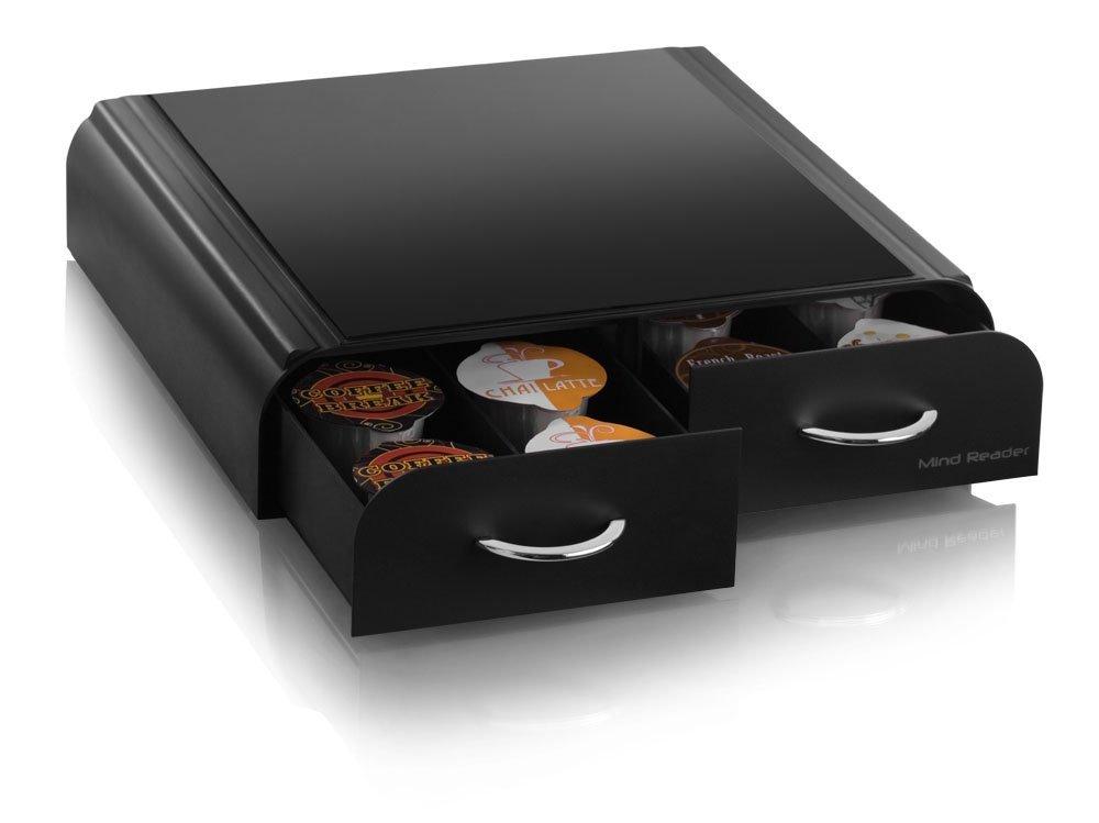 ... Mind Reader VUE Pack Coffee Pod Drawer - Black (VUETRY01BLK) ...  sc 1 st  Blinq & Mind Reader VUE Pack Coffee Pod Drawer - Black (VUETRY01BLK) - Check ...