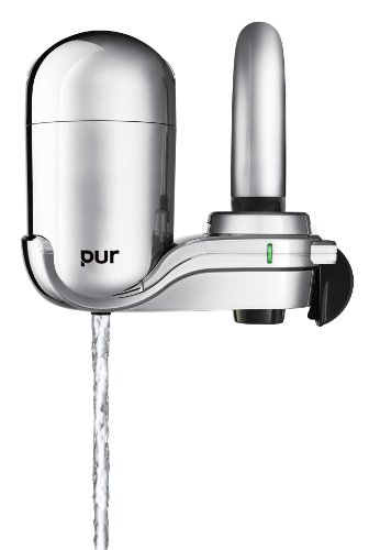 PUR Mineral Clear Advanced Vertical Faucet Mount Water Filtration ...