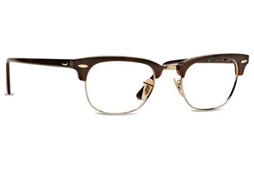 56d59e97b021 ... sale ray ban rx5154 clubmaster eyeglasses red havana gold 49mm 88b83  f69d2