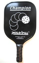 "Champion Pickleball Paddle (Black, Cushion grip - 4.5"")"