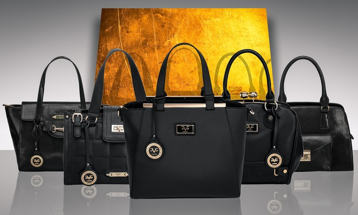 8891ed1079 ... Versace Women's 19.69 Abbigliamento Sportivo Sophie Quilted Satchel  -Black ...