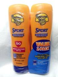 Banana Boat 2-Pack Sport Performance Broad Spectrum Sunscreen Lotion 8 fl.