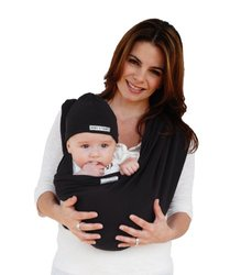 Baby K'tan ORIGINAL Baby Carrier - Black - SIze: Small
