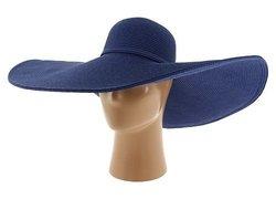 San Diego Hat Company Women's XL Brim Hat O/S Blue