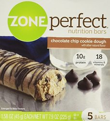ZonePerfect? Chocolate Chip Cookie Dough Nutrition Bars - Count 5