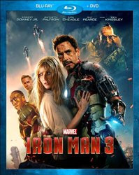 Disney Iron Man 3 Blu-Ray Combo Pack Blu-Ray/DVD 544946