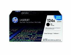 HP - Q6000AD Color Toner Cartridge Twin-Pack - Black laserjet