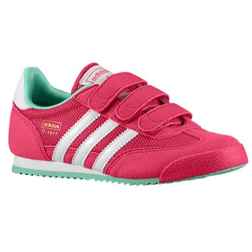 076e864cb90e ... adidas Girls Dragon Running Shoes - Pink - Size  1 M US Little Kid ...
