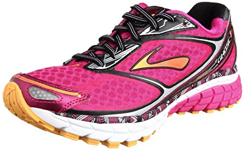 21102f08fb5 Brooks Women s Ghost 2 Running Shoe Silver White 7 B white - Check ...