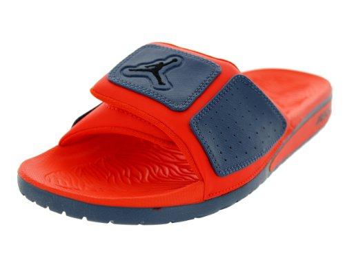 new concept 829cc b1411 ... Jordan Men s Nike Air Hydro 3 Sandals- Slate Black Orange - Sz  ...
