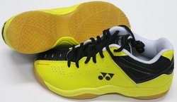 Yonex Junior Badminton Shoe-Flash - Yellow - Size: 13