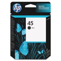 Hp Genuine 45 Black Inkjet Ink Jet Cartridge (51645A)