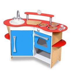 Melissa & Doug Cook's Corner Wooden Toy Kitchen (3950)