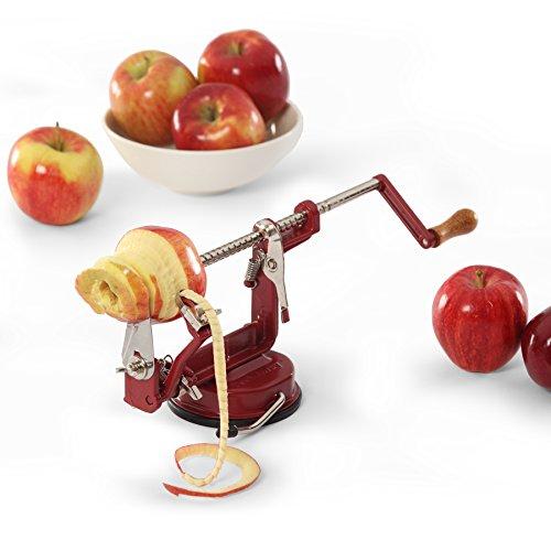 Peel away apple peeler