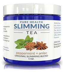 Herbal Weight Loss Tea & Detox Drink w/ Peppermint & Star Anise