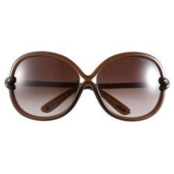 Tom Ford Sonja Oversized Sunglasses - Brown - (FT0185-48F)