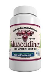 Muscadinex Resveratrol Ellagic Acid Supplement - 60 Veg Caps