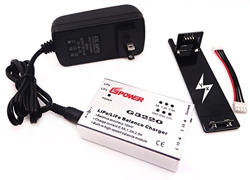 Anbee Rapid Balance Charger & Adapter Plate for Parrot Bebop