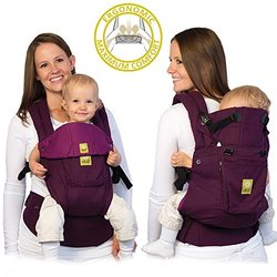 LILLEbaby Complete Original 6-in-1 Baby Carrier - Pink/Purple