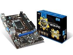 MSI Computer Corp LGA1150/Intel H81/DDR3/SATA3 and USB3.0/A&GbE/MicroATX