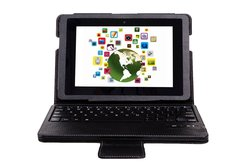 """IVSO KeyBook Bluetooth Keyboard Case for Kindle Fire HDX 8.9"""""""