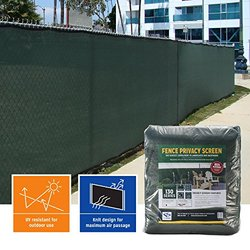 Privacy Fence Screen (6 ft. x 50 ft., Green)