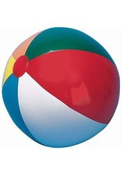 "12"" Multicolored Beach Ball - 12 Pack"