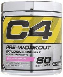 Cellucor Men's & Women's C4 Fitness Pre-Workout Supplement - Pink Lemonade