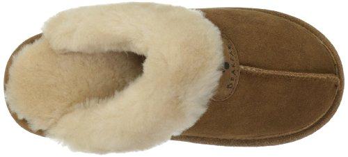9b0676f3803809 Bearpaw Women s Loki II Slide Mule Slippers - Hickory - Size 7 - BLINQ